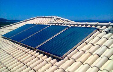 Aquecedor solar caseiro