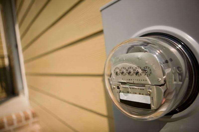 Relógio de energia eletrica