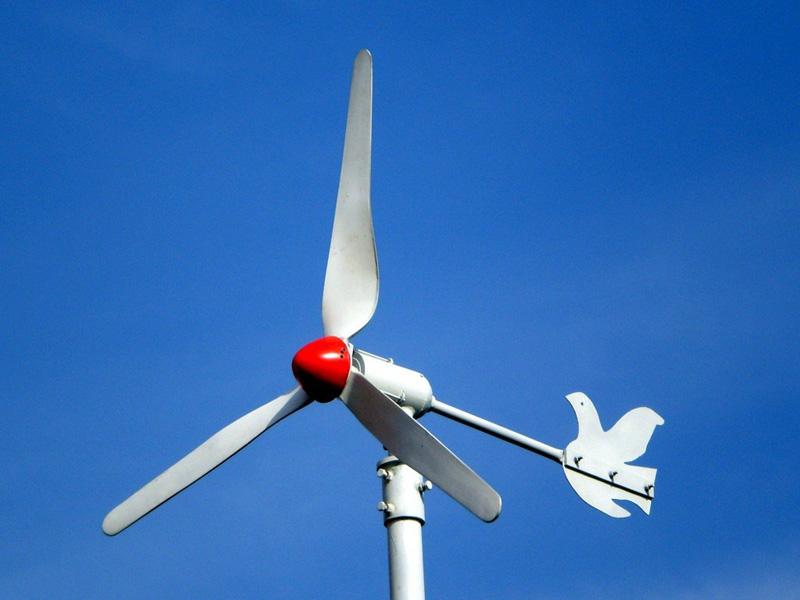 Turbina eólica caseira